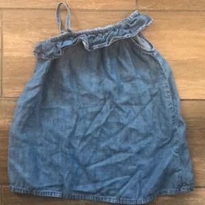 Like New! Gap Chambray Dress in 18-24 Months